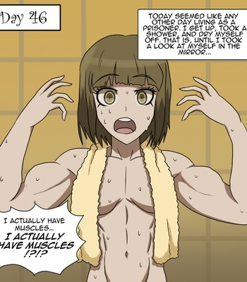 Ultra Muscle Girls comic porn sex 009