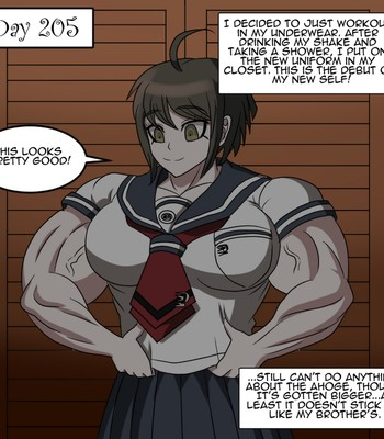 Ultra Muscle Girls comic porn sex 014