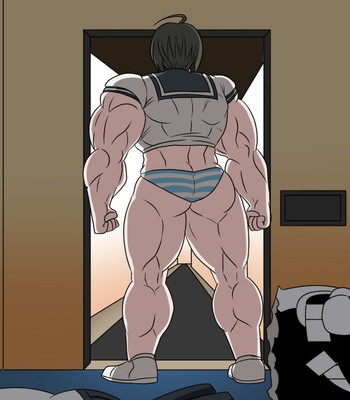 Ultra Muscle Girls comic porn sex 021