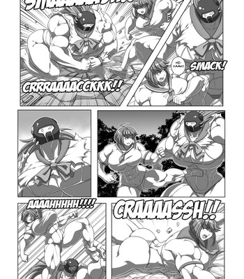 Ultra Muscle Girls comic porn sex 046