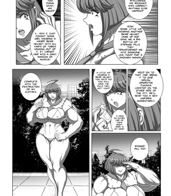 Ultra Muscle Girls comic porn sex 054