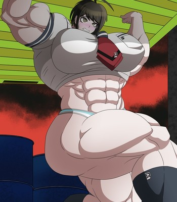 Ultra Muscle Girls comic porn sex 063