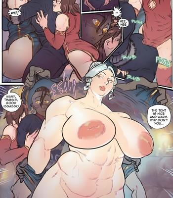 Under Her Majesty's Midnight Service comic porn sex 003