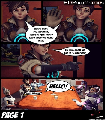 Porn Comics - Underwatch BJ