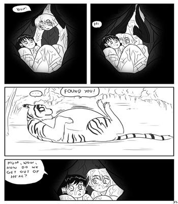 Unusual Hiding Place comic porn