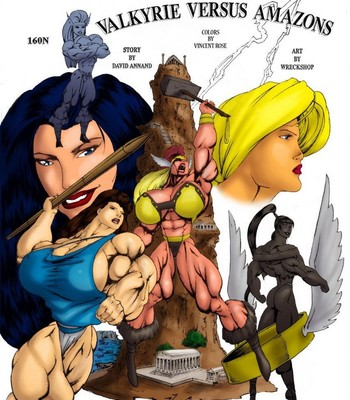 Porn Comics - Valkyries vs Amazons