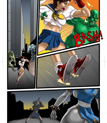 Porn Comics - Vamp Fight 1