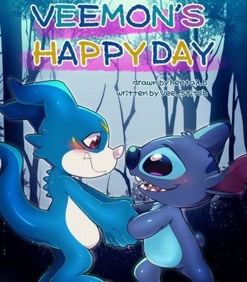 Porn Comics - Veemon's Happy Day 1