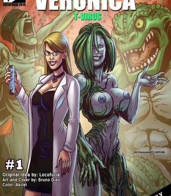 Porn Comics - Veronica T-Virus 1