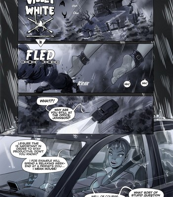 Porn Comics - Violet White – Fled