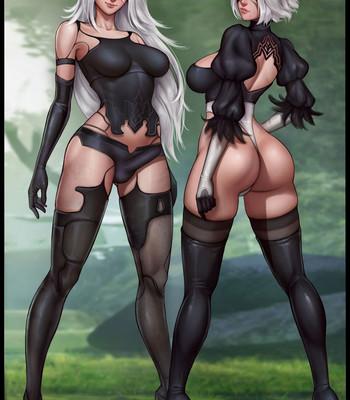Porn Comics - Waifunator 2 – Nier Automata (Futa)