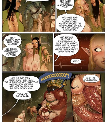 Warhammer - It's A Pleasure To Serve comic porn sex 017