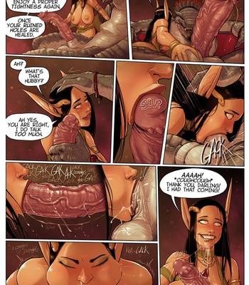Warhammer - It's A Pleasure To Serve comic porn sex 024