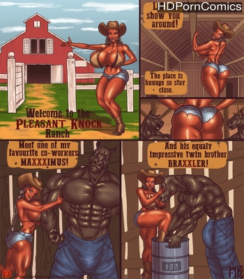 Porn Comics - Welcome To The Pleasent Knock Ranch