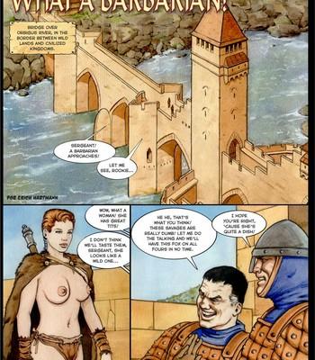 What A Barbarian! comic porn sex 002