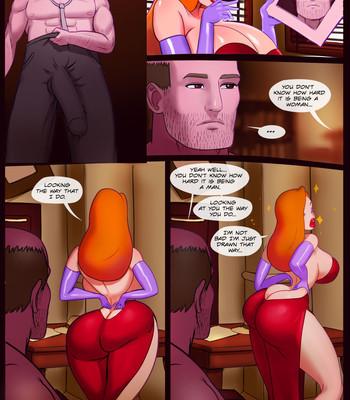 Who Fucked Roger's Rabbit comic porn sex 004