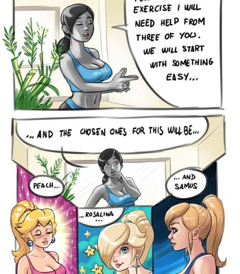 Wii Fit xXx comic porn sex 003