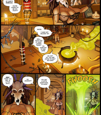 Witch Doctor comic porn sex 003