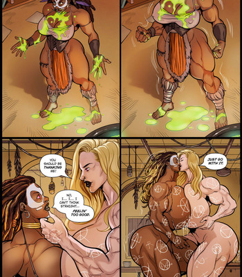 Witch Doctor comic porn sex 012