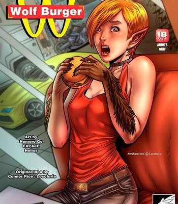 Porn Comics - Wolf Burger
