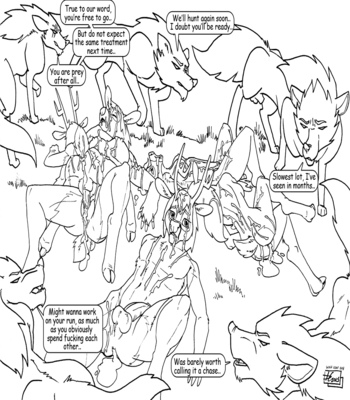 Wolf Hunt comic porn sex 008