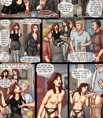 Porn Comics - Yolaine's Gangbang