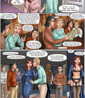 Porn Comics - Yolaines Gangbang Re-Do