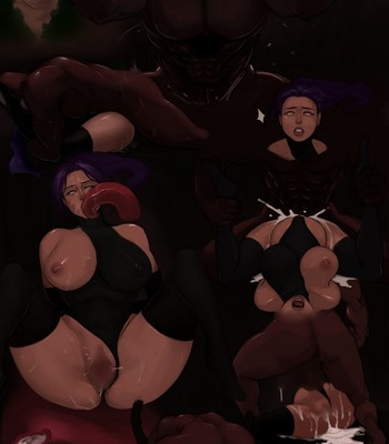 Porn Comics - Yoruichi's Downfall