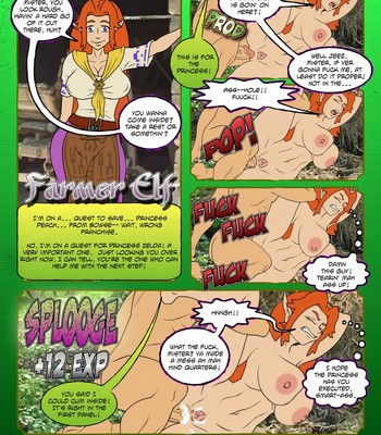 Zelda - A Link In The Ass 1 comic porn sex 009