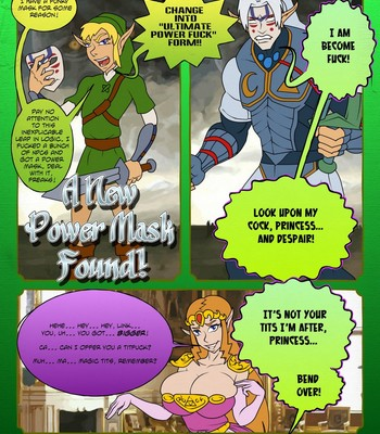 Zelda - A Link In The Ass 1 comic porn sex 011