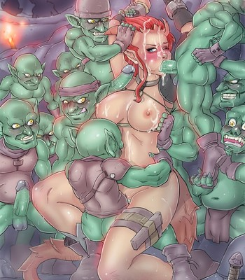 Porn Comics - Zohara And The Goblin Party