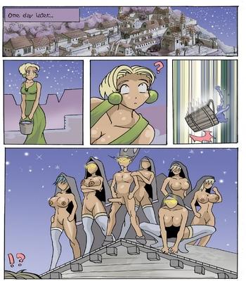 Zombie Attack comic porn