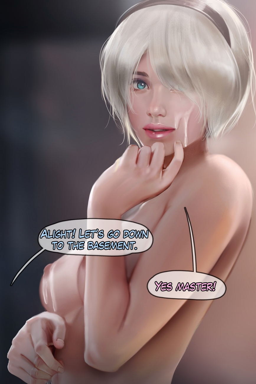 2B – You Have Been Hacked comic porn