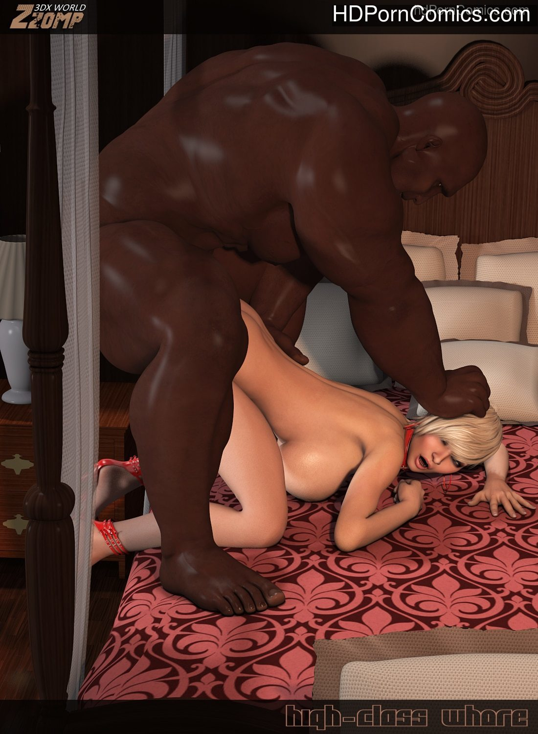3D COMICS-Zzomp- High-Class Whore 221 free sex comic