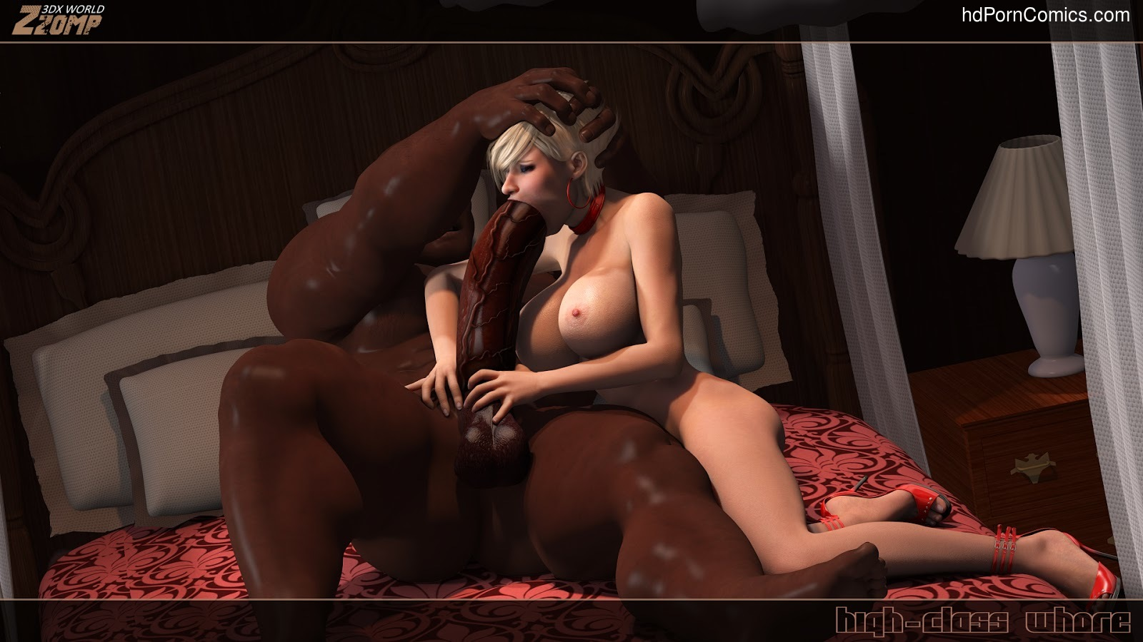 3D COMICS-Zzomp- High-Class Whore 23 free sex comic