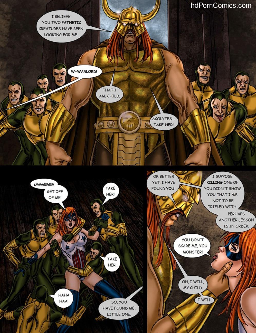 9 Superheroines VS Warlord 1 12 free sex comic