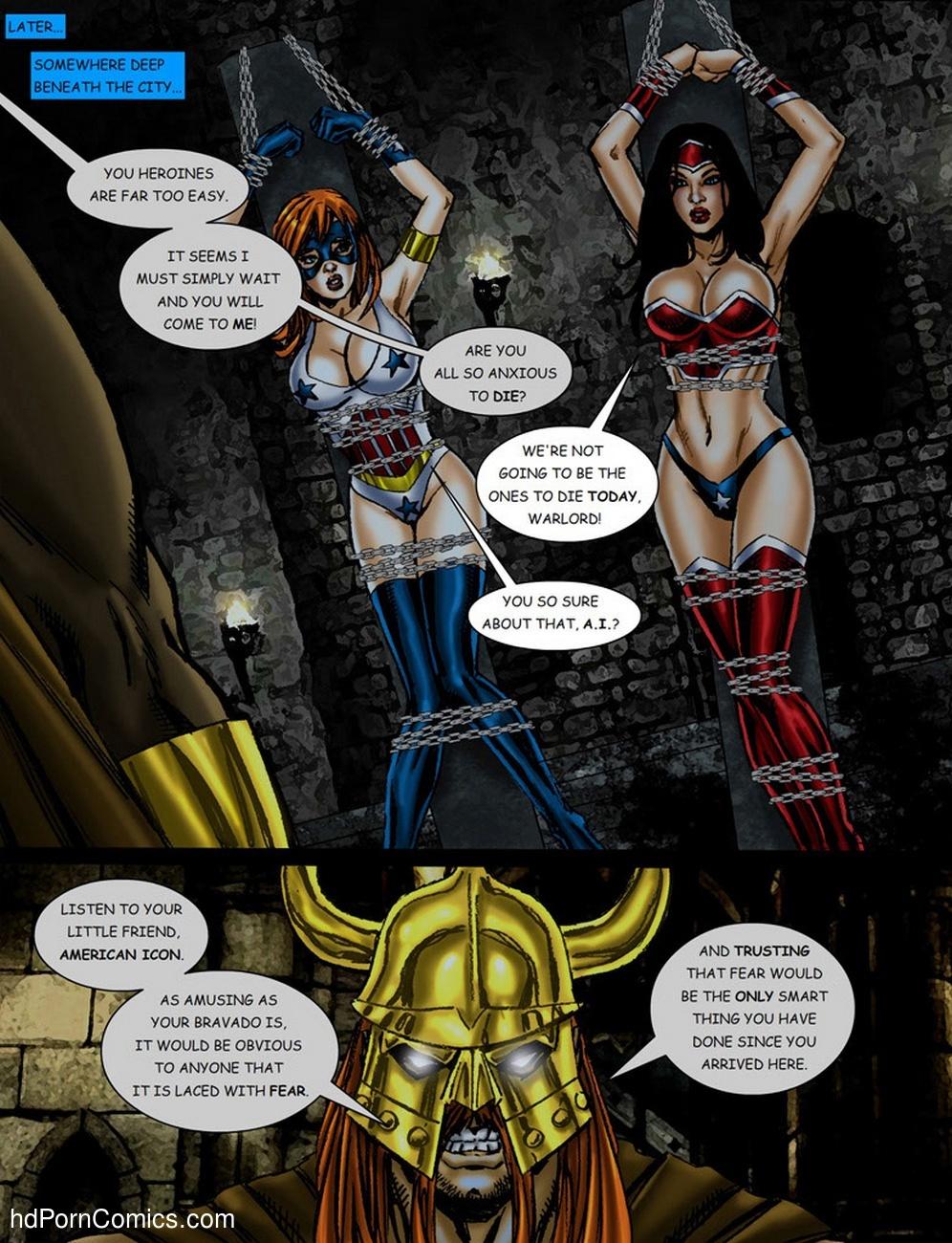 9 Superheroines VS Warlord 1 13 free sex comic