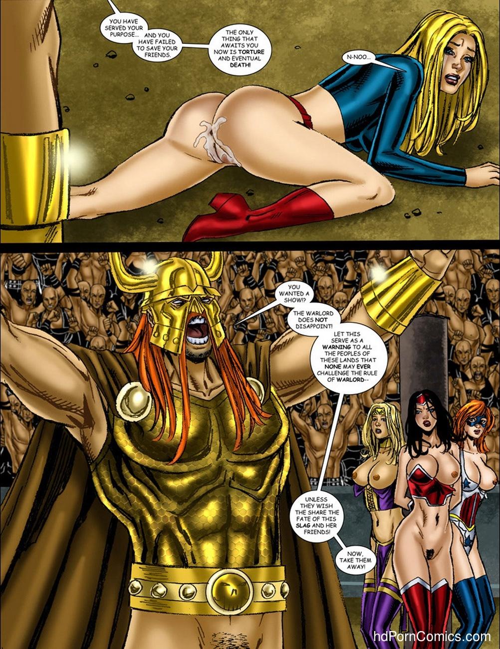 supergirl porn toon