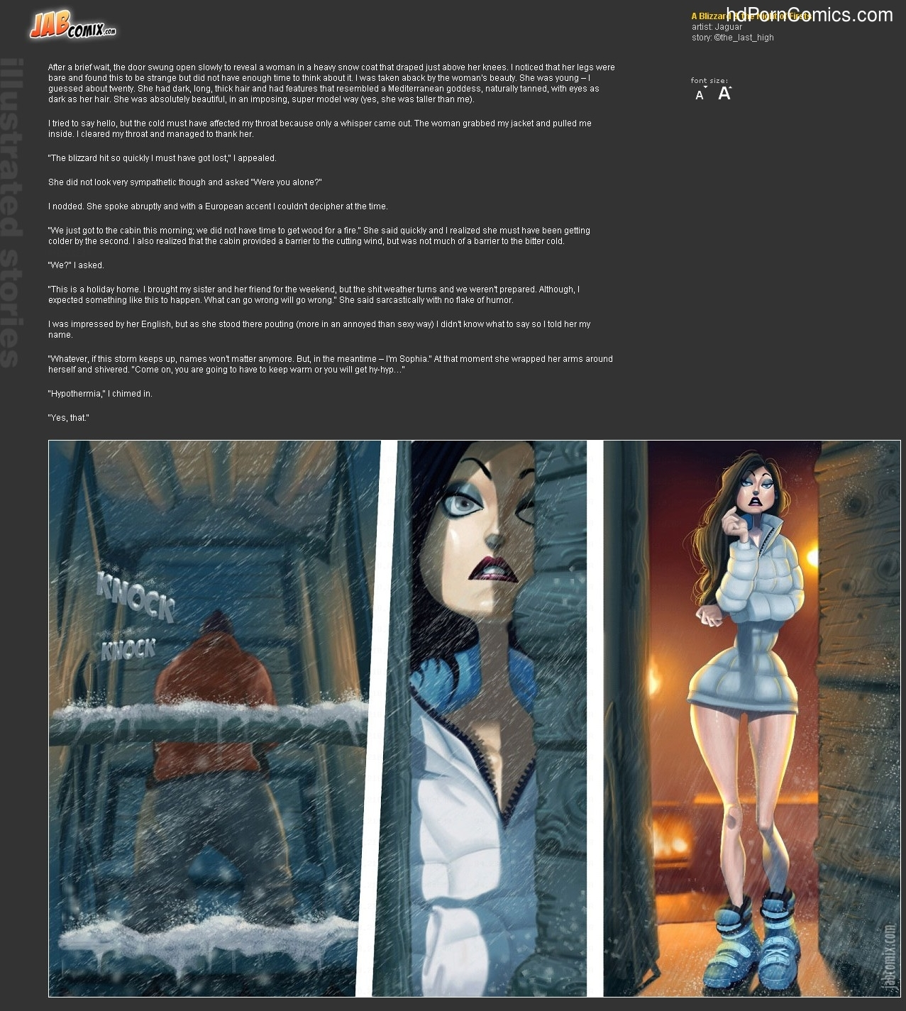 A Blizzard & Night of Firsts3 free sex comic
