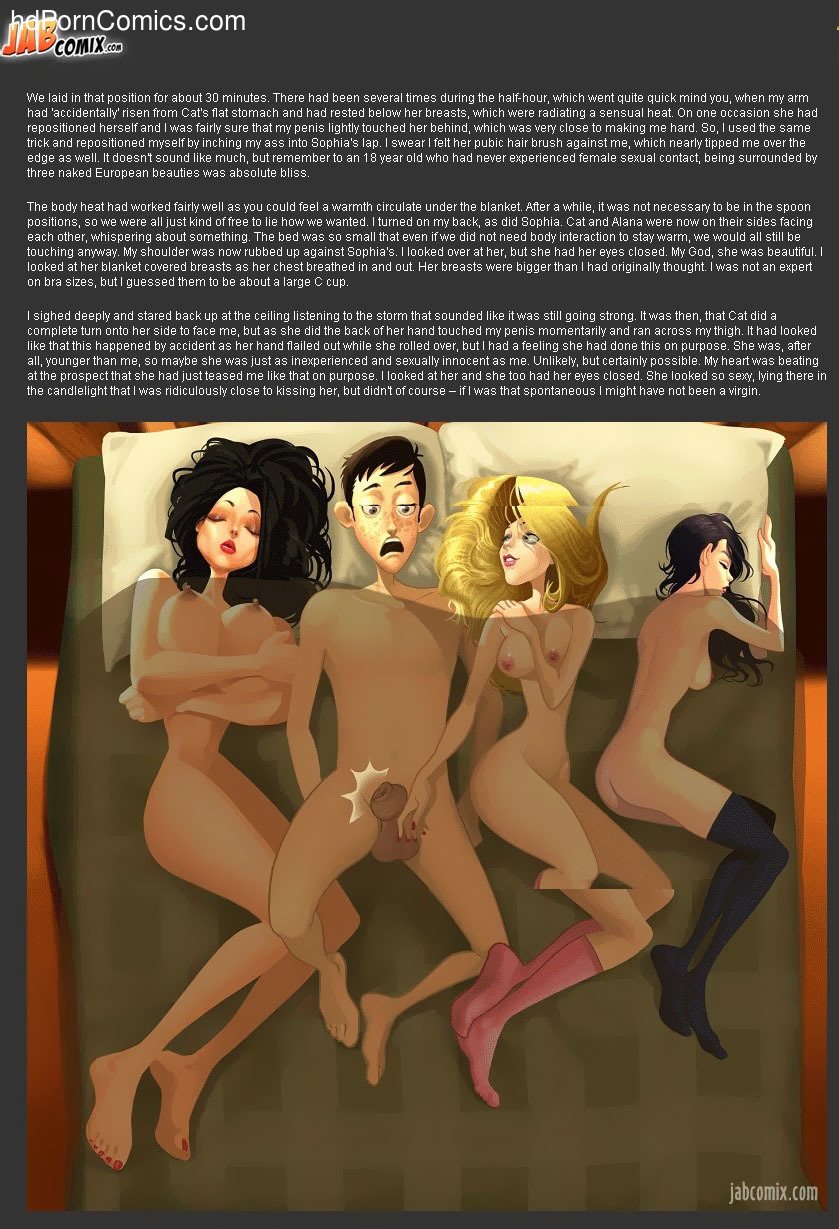 A Blizzard & Night of Firsts7 free sex comic