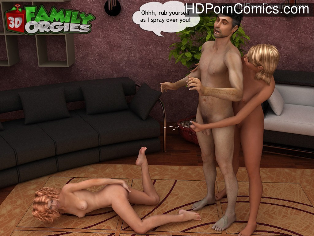 A family of incest sinners free Cartoon Porn Comic