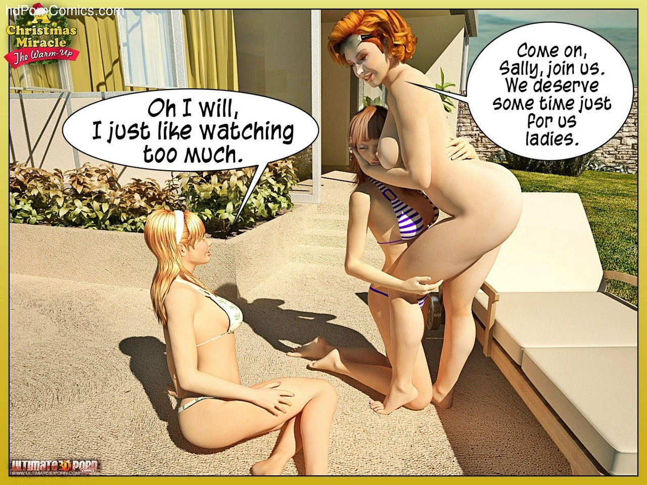 A Christmas Miracle 1 - The Warm Up 17 free sex comic