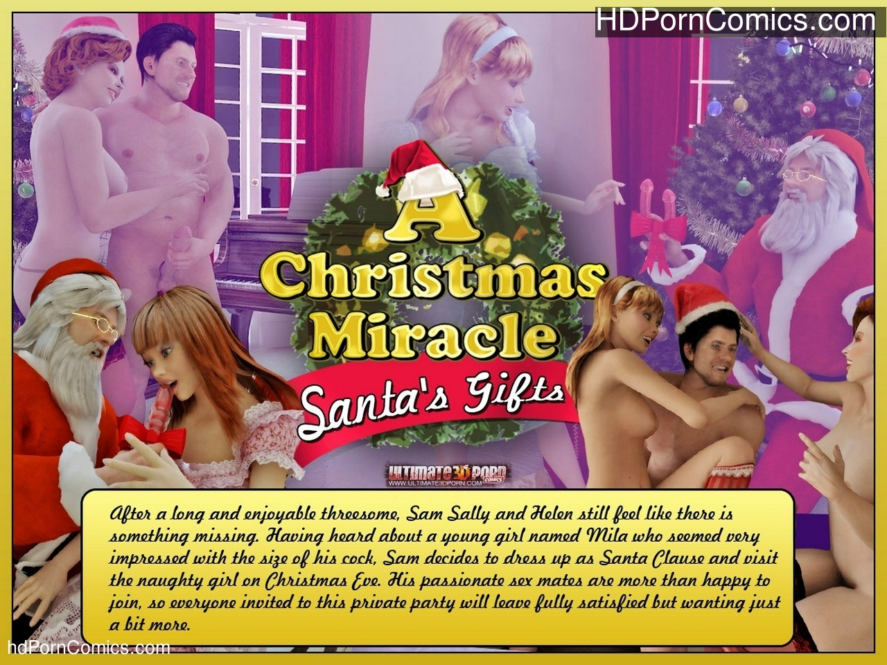 A Christmas Miracle 2 – Santa's Gift Sex Comic