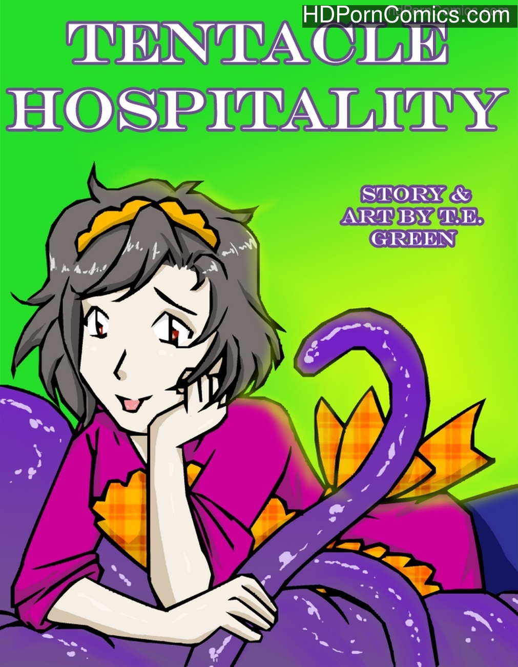 A Date With A Tentacle Monster 3 – Tentacle Hospitality Sex Comic