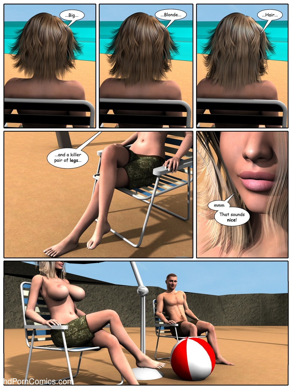 A Day At The Beach 6 free sex comic