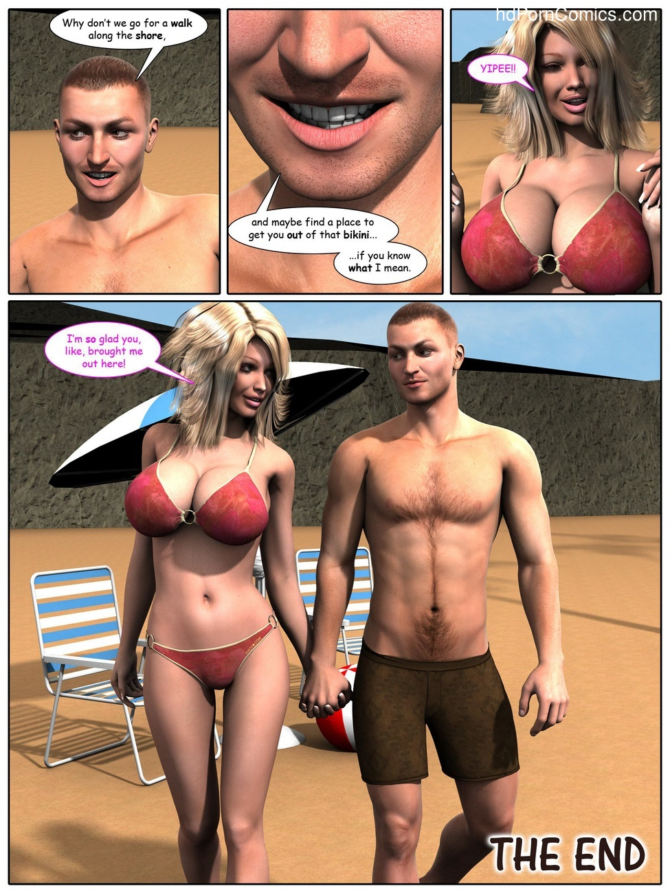 A Day At The Beach 9 free sex comic
