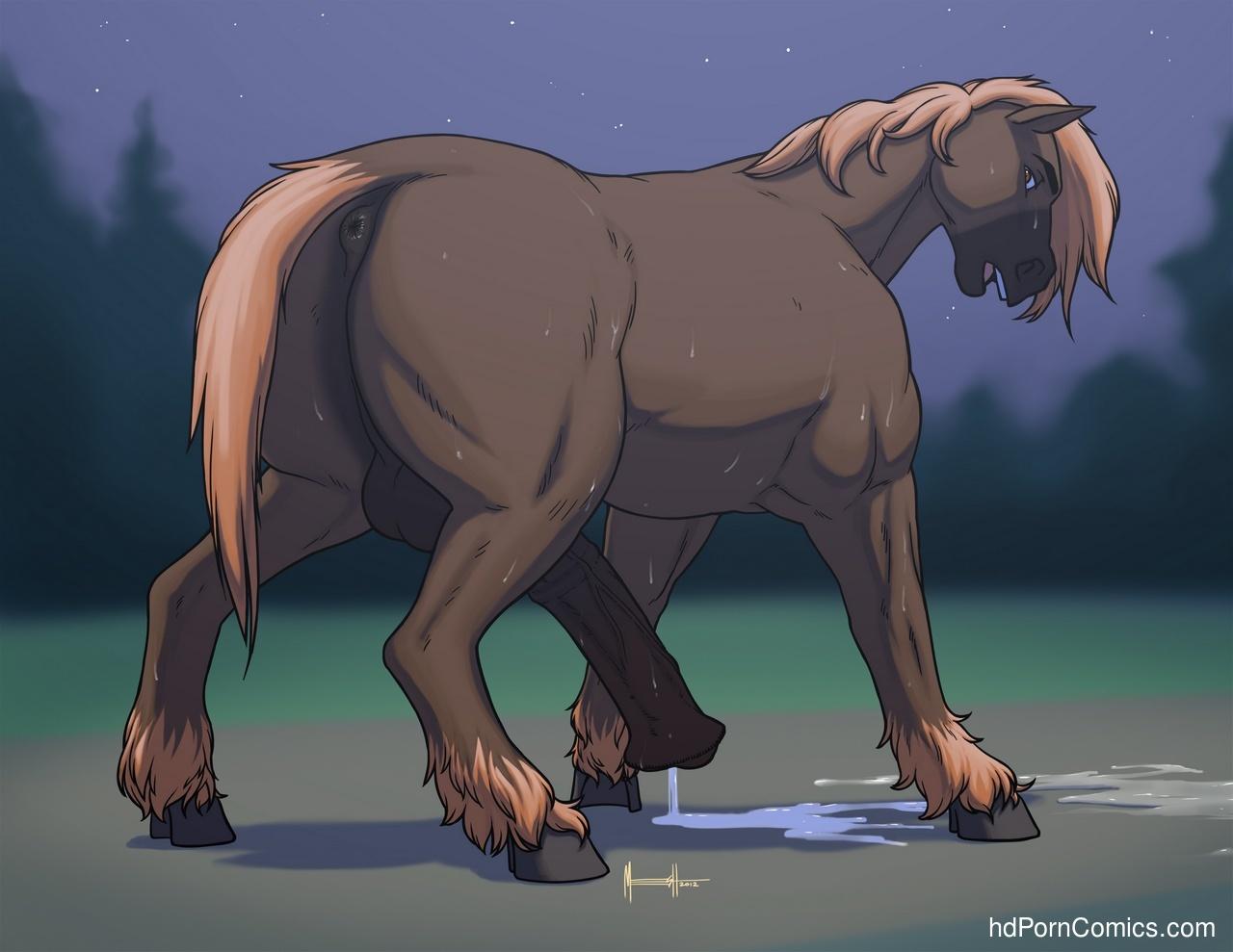 cartoon horse porn