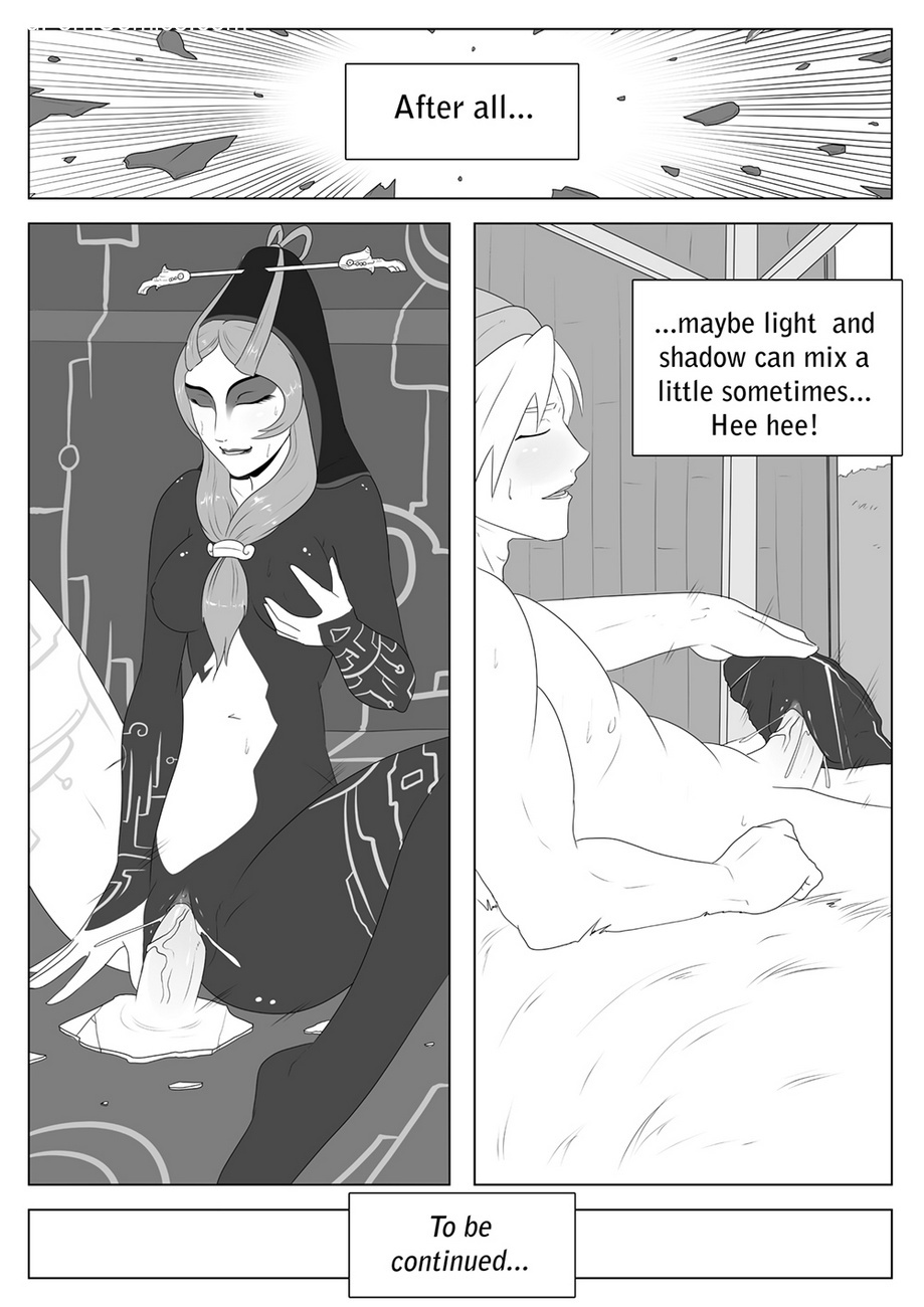 A Link Between Girls 2 – Queen Midna Sex Comic