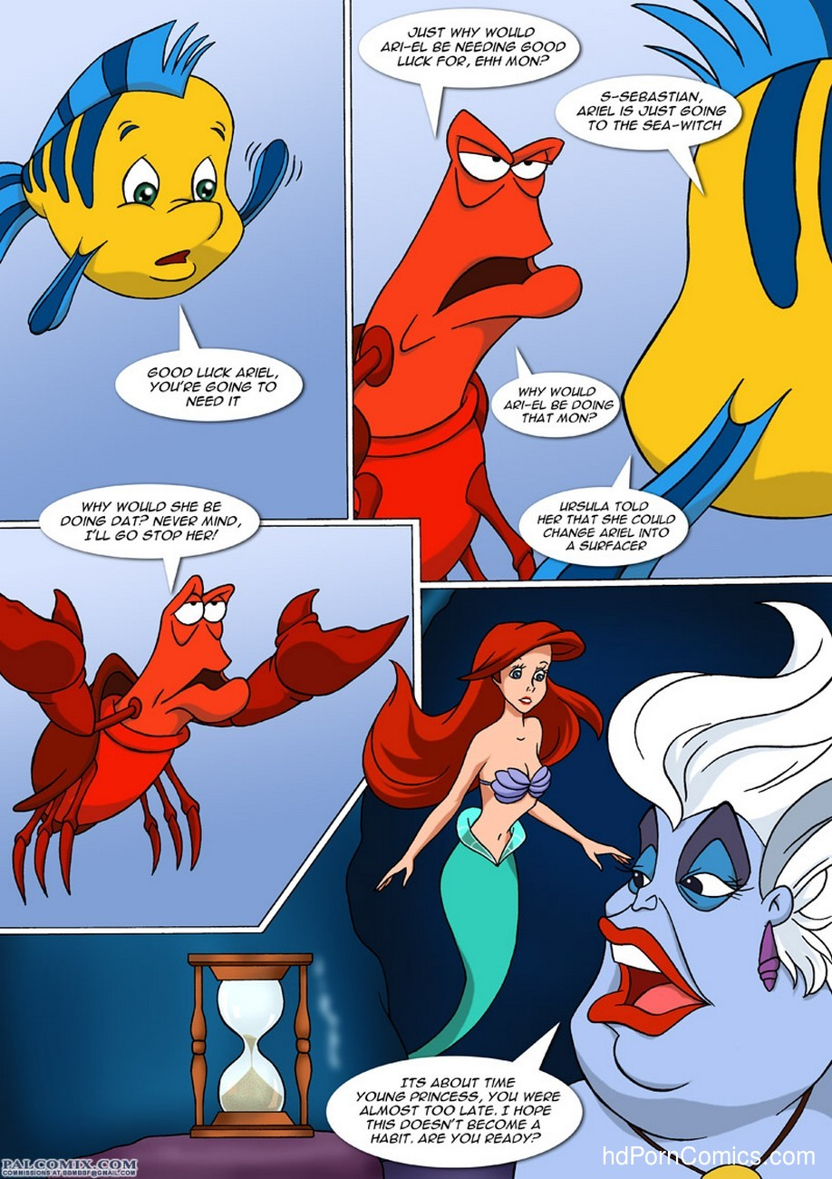 A New Discovery For Ariel 13 free sex comic