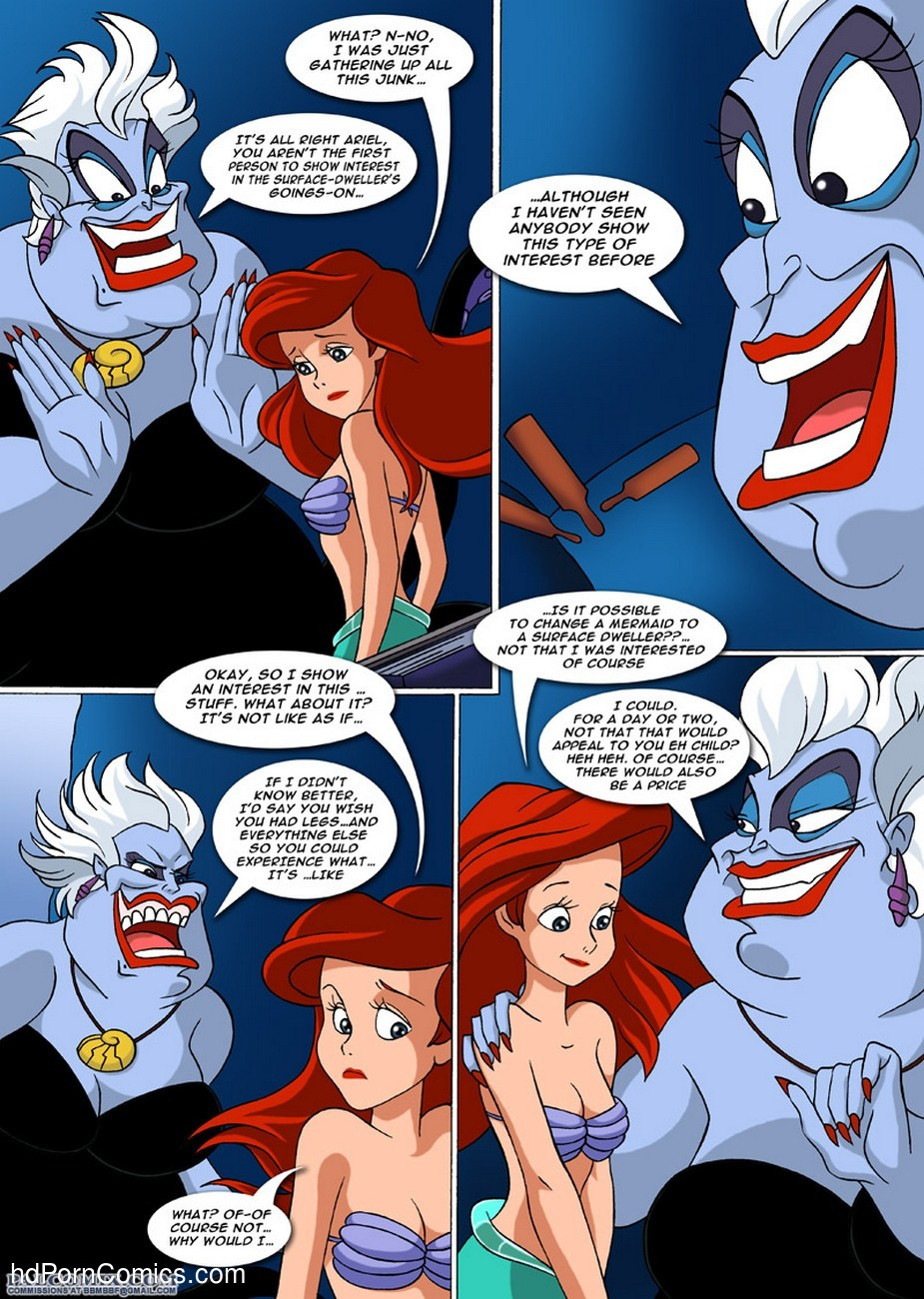 A New Discovery For Ariel 8 free sex comic